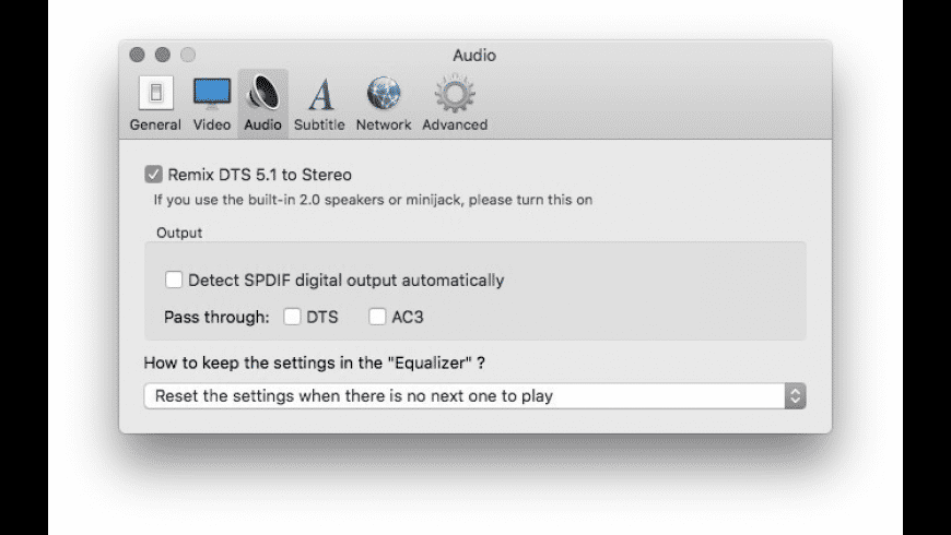 MPlayerX for Mac - review, screenshots