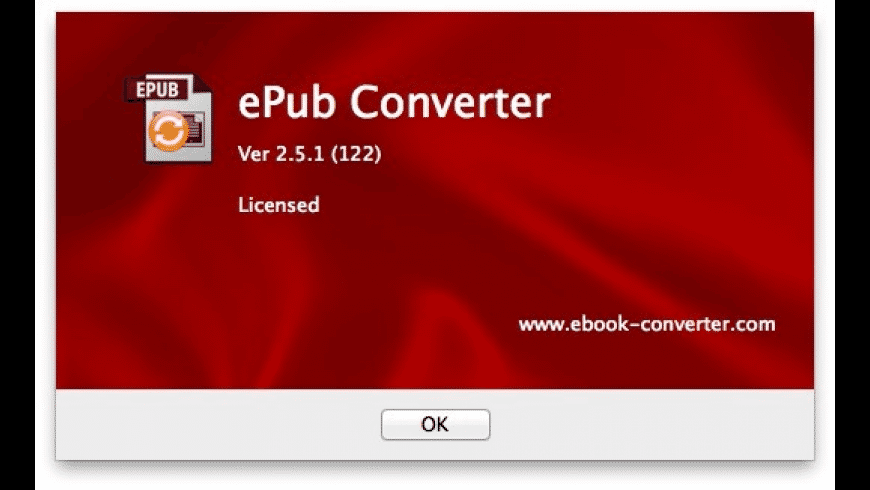 ePub to PDF converter for Mac - review, screenshots