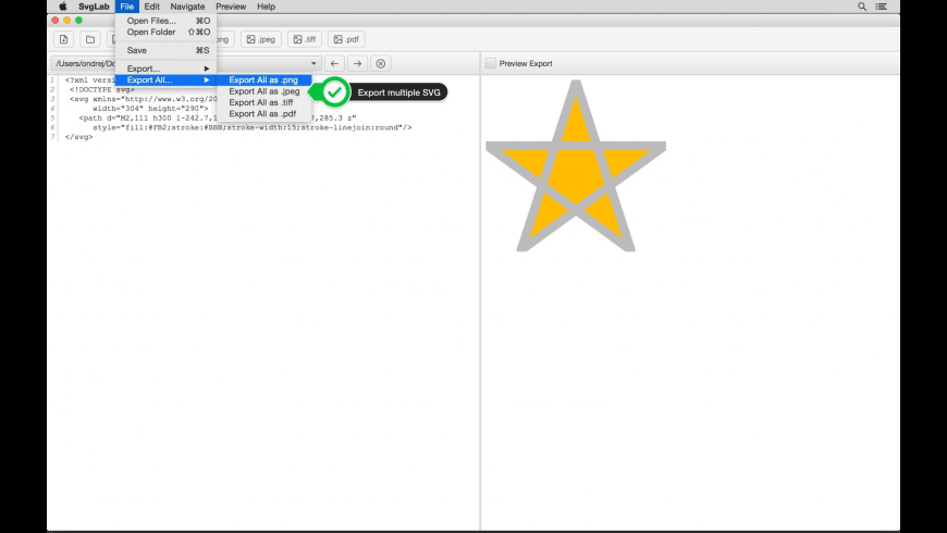 SvgLab for Mac - review, screenshots