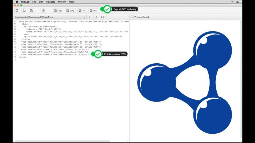 SvgLab for Mac - review, screenshots