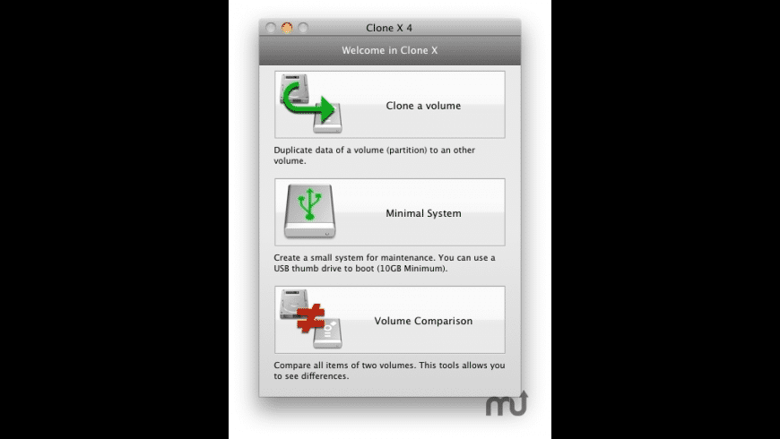 Clone X for Mac - review, screenshots