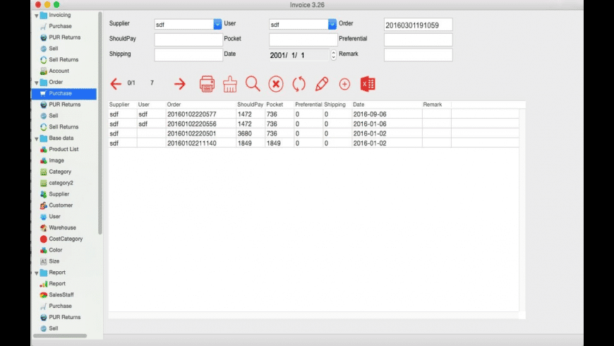 SuperInvoice-inventory erp for Mac - review, screenshots