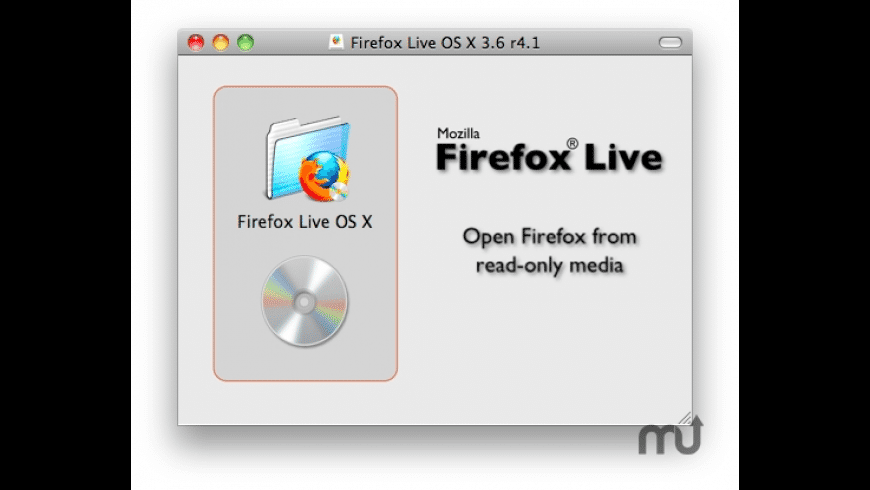 Firefox Live CD for Mac - review, screenshots