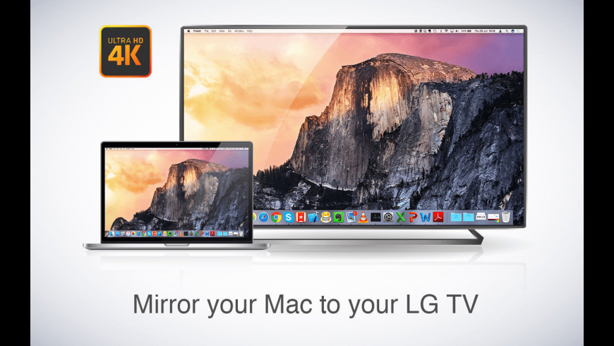 screen share mac to lg smart tv free
