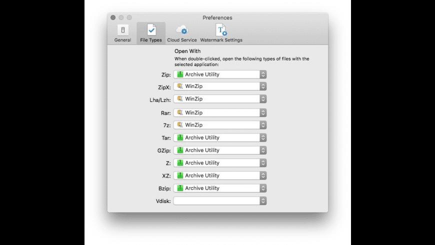 WinZip for Mac - review, screenshots