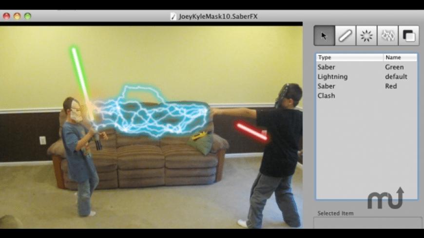 SaberFX for Mac - review, screenshots
