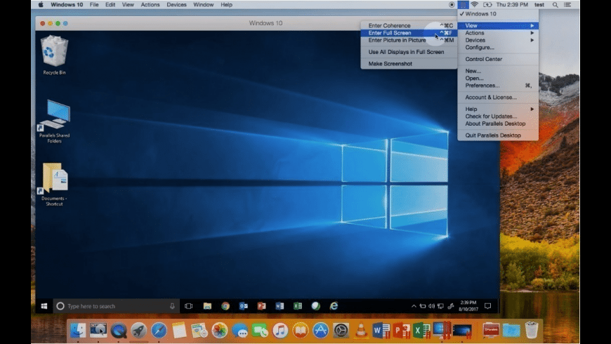Parallels Desktop for Mac - review, screenshots