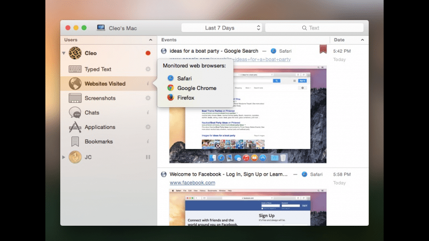 Refog for Mac - review, screenshots