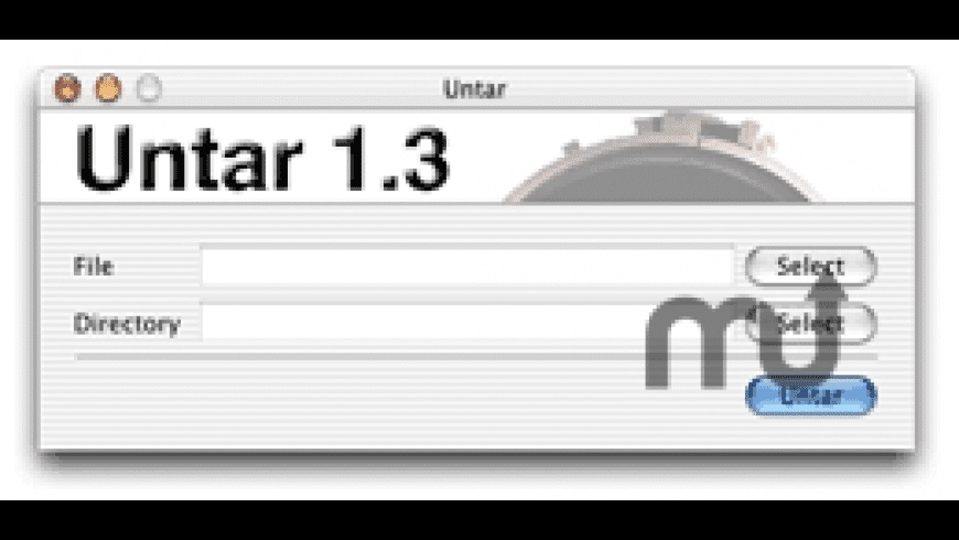 Untar for Mac - review, screenshots