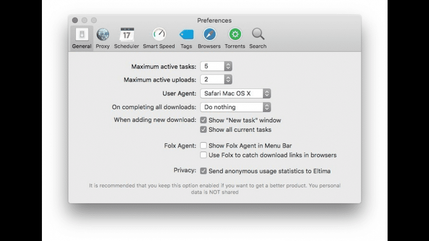 Folx Pro for Mac - review, screenshots