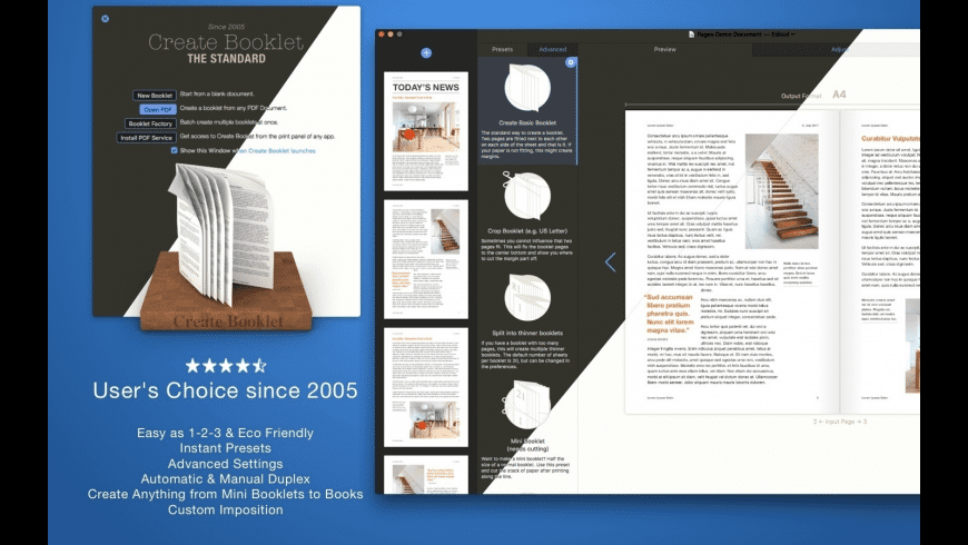 Create Booklet for Mac - review, screenshots