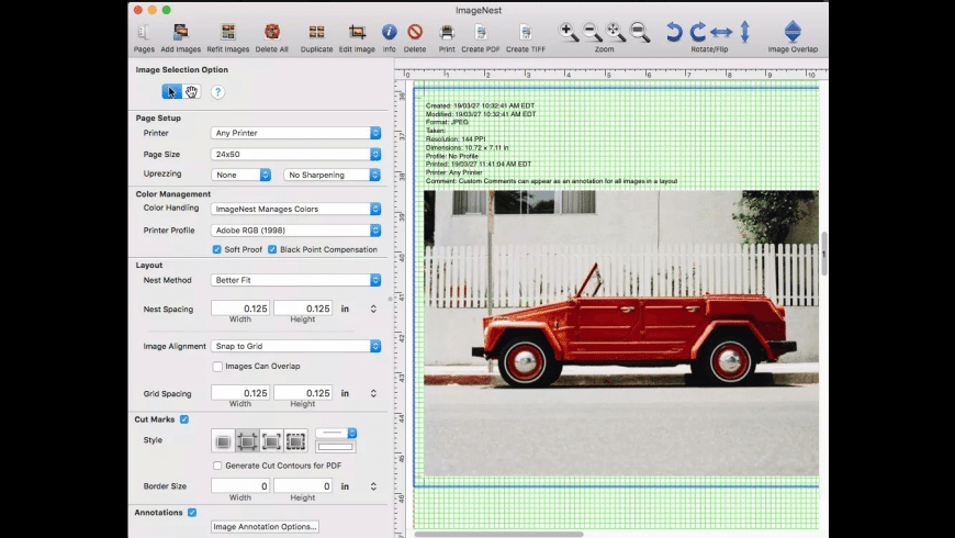 ImageNest for Mac - review, screenshots