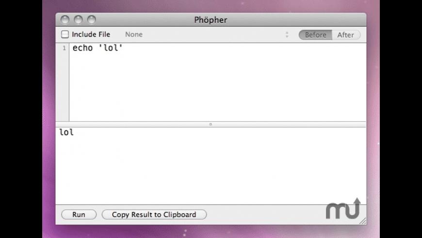 Phöpher for Mac - review, screenshots