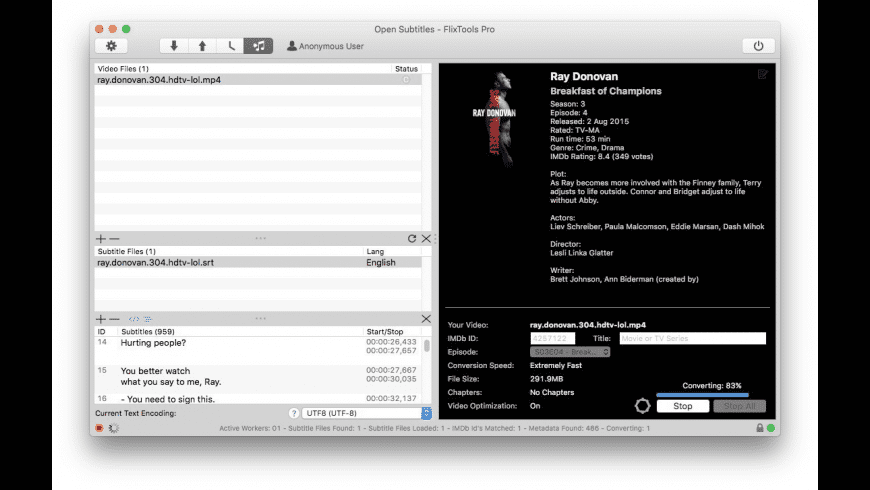 FlixTools for Mac - review, screenshots