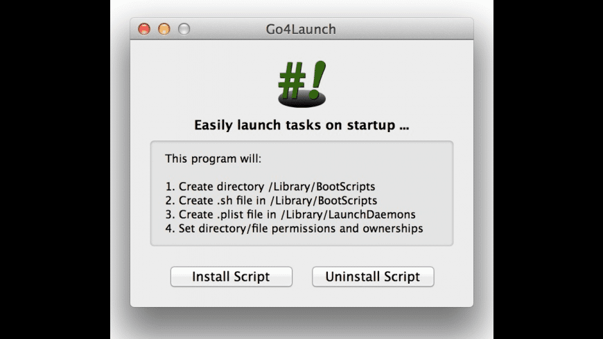 Go4Launch for Mac - review, screenshots
