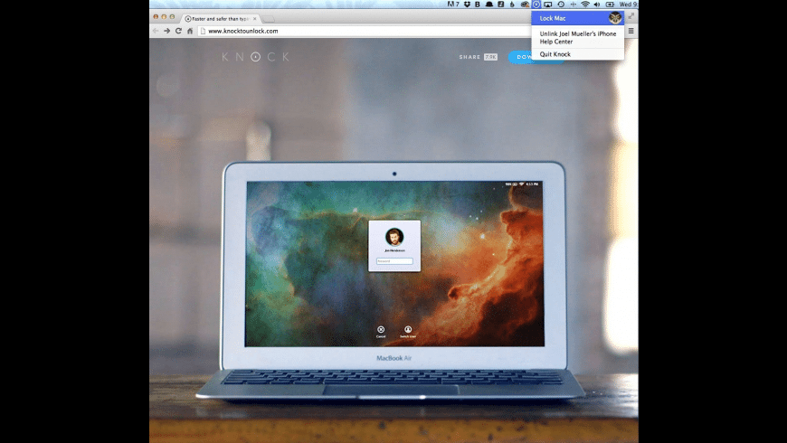 Knock for Mac - review, screenshots
