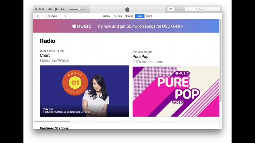 Apple iTunes for Mac - review, screenshots