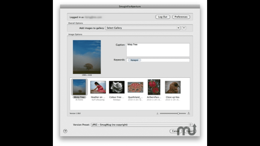 SmuginForAperture for Mac - review, screenshots
