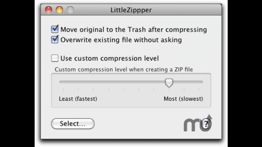 LittleZipper for Mac - review, screenshots