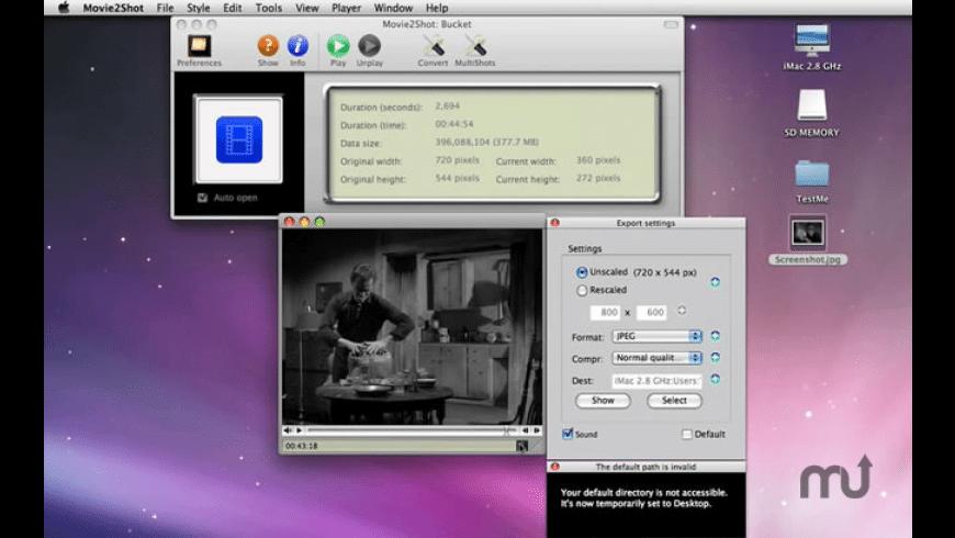 Movie2Shot for Mac - review, screenshots