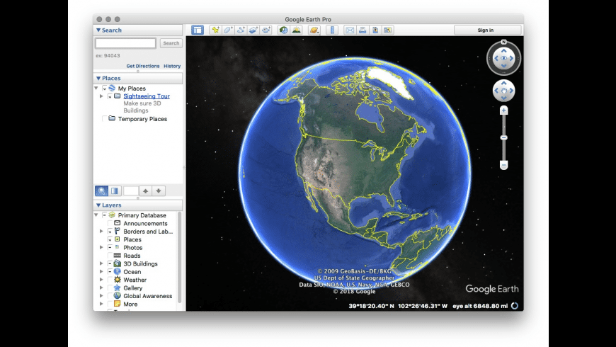Google Earth Pro for Mac - Free Download Version 7.3.2.5776 ... on find address by location on map, googl map, google heat map, google world map,