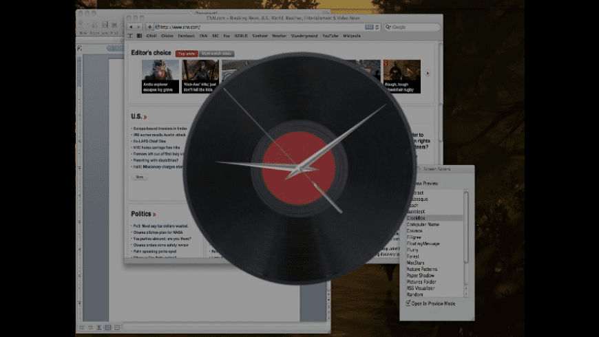 ClockBox for Mac - review, screenshots