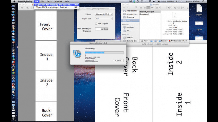 BookLightning for Mac - review, screenshots