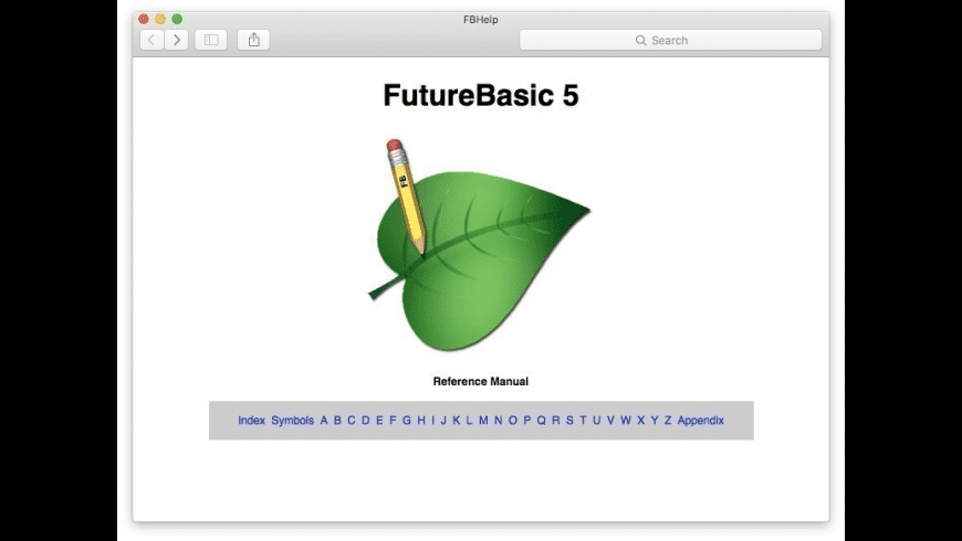 FutureBASIC for Mac - review, screenshots