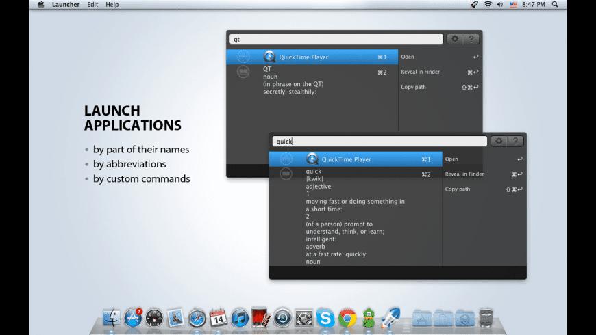 Launcher for Mac - review, screenshots