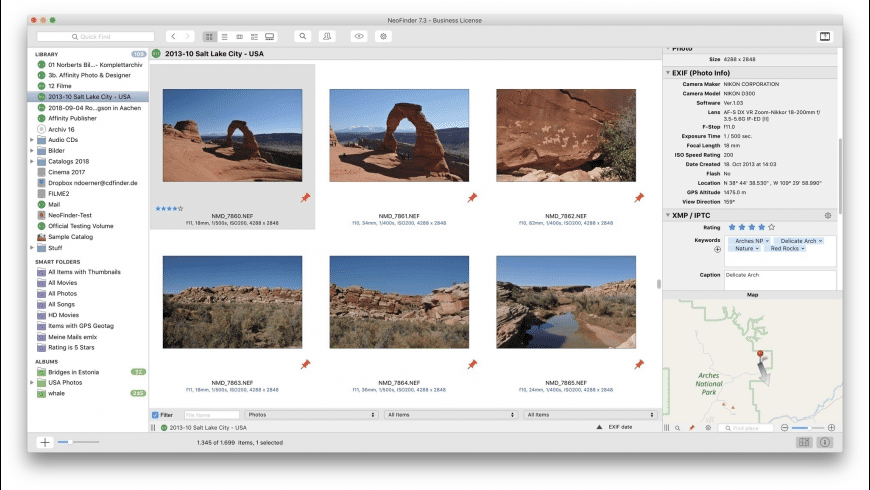 NeoFinder for Mac - review, screenshots