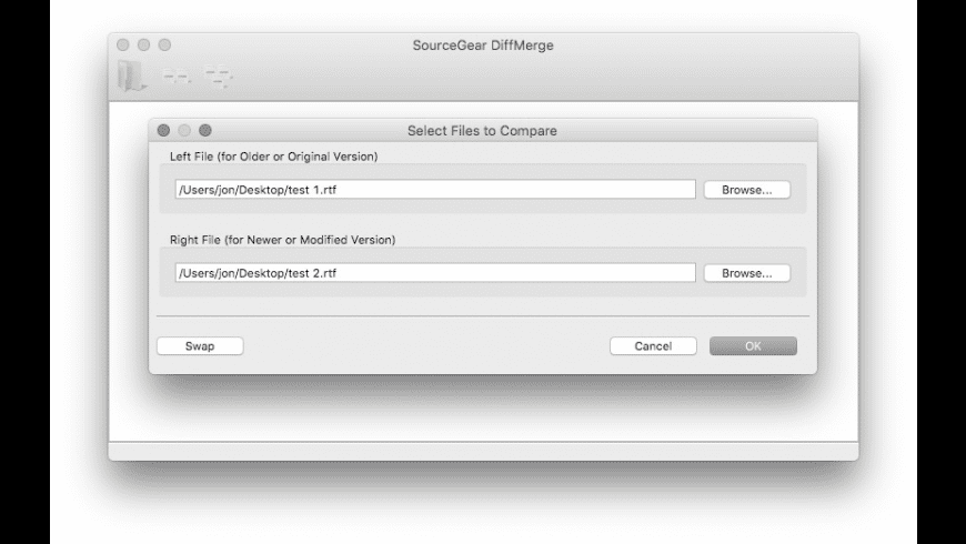 DiffMerge for Mac - review, screenshots