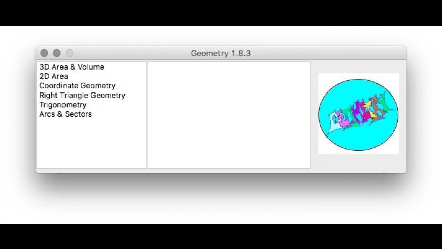 Geometry X for Mac - review, screenshots