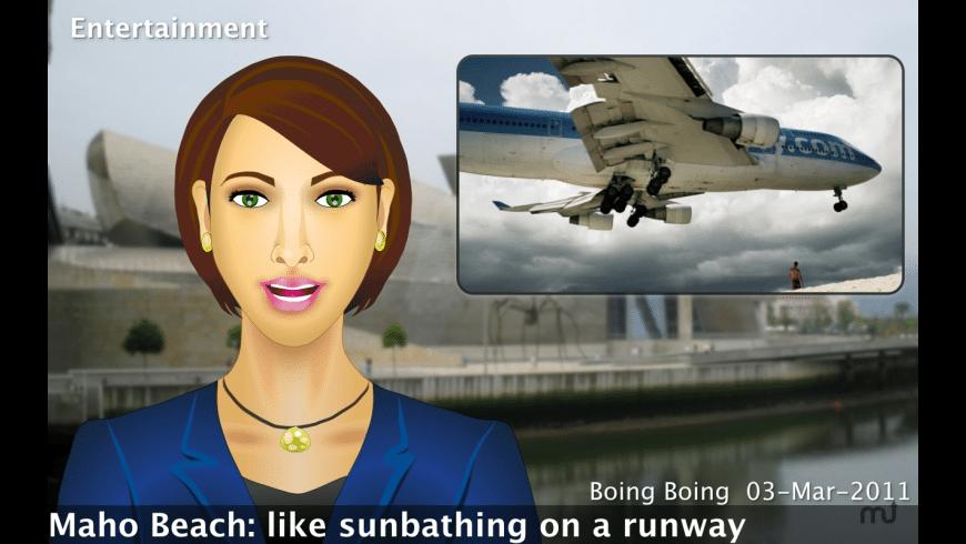 News Anchor for Mac - review, screenshots