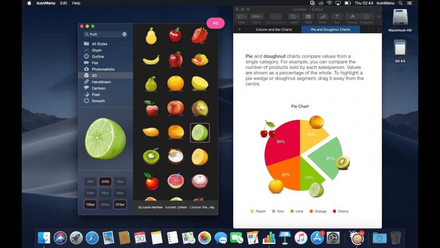IconMenu for Mac - review, screenshots