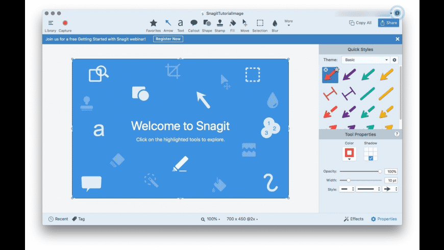Snagit for Mac - review, screenshots