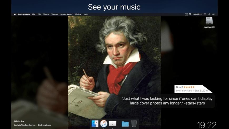 Backgrounds for Mac - review, screenshots