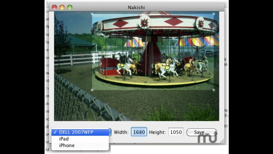 Nakishi for Mac - review, screenshots