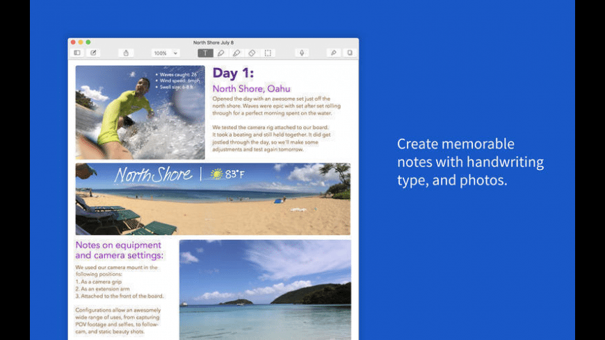 Notability for Mac - review, screenshots