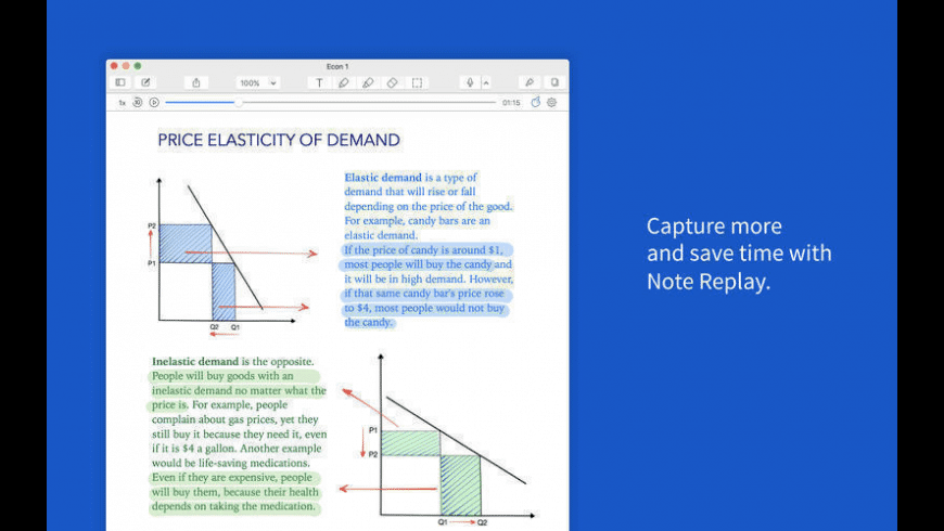 Notability for Mac - review, screenshots
