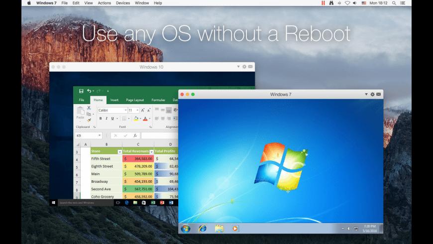Parallels Desktop Lite for Mac - review, screenshots