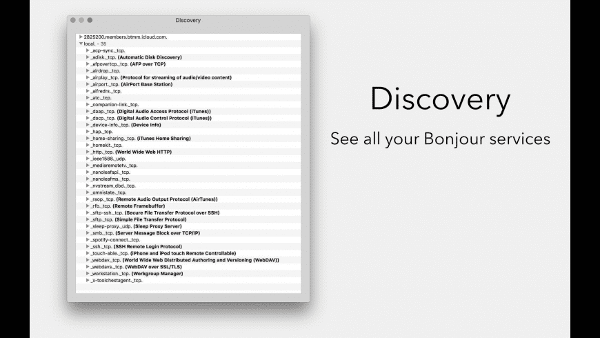 Discovery for Mac - review, screenshots