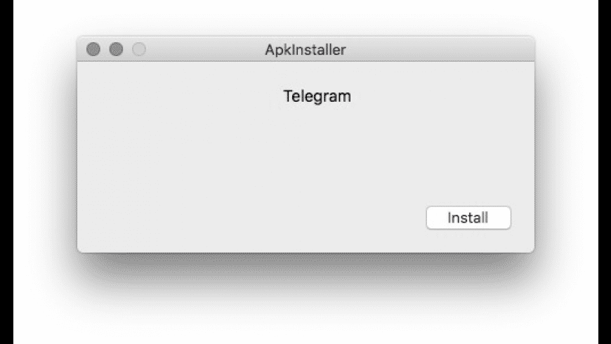 ApkInstaller for Mac - review, screenshots