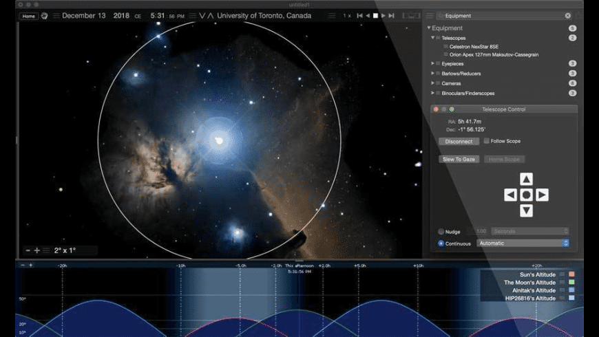 Starry Night Pro for Mac - review, screenshots