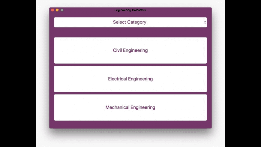 Engineering Calculator for Mac - review, screenshots