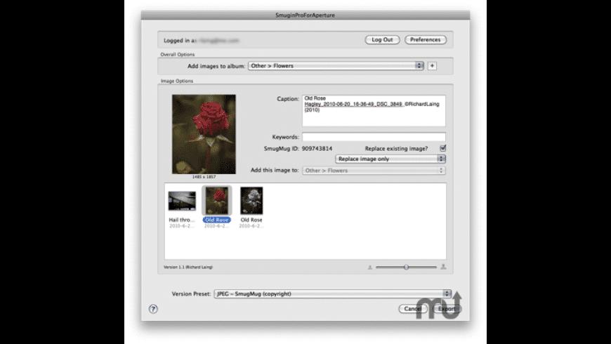 SmuginProForAperture for Mac - review, screenshots
