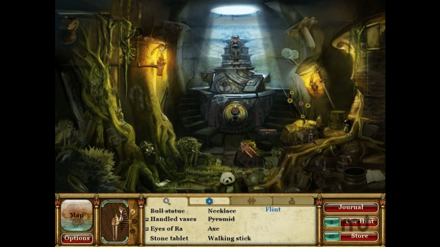Curse of the Pharaoh - Tears of Sekhmet for Mac - review, screenshots