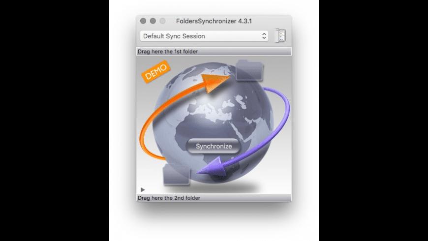 FoldersSynchronizer for Mac - review, screenshots