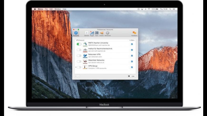 Shimo for Mac - review, screenshots