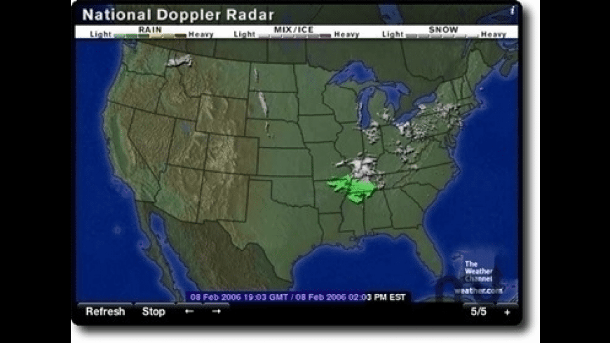 Radar In Motion for Mac - review, screenshots