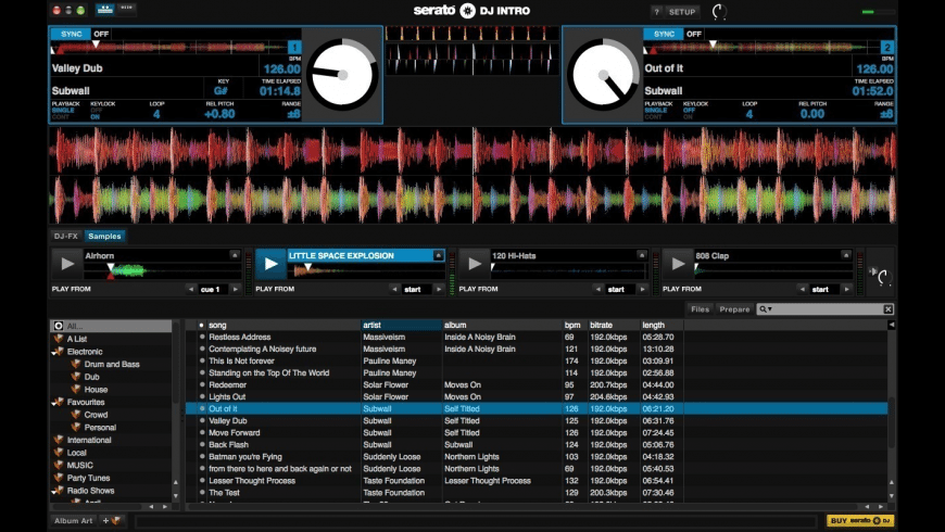 Serato DJ Intro for Mac - review, screenshots